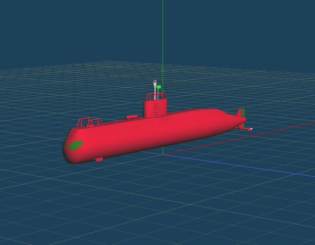 GHADIR級潜水艦製作中2