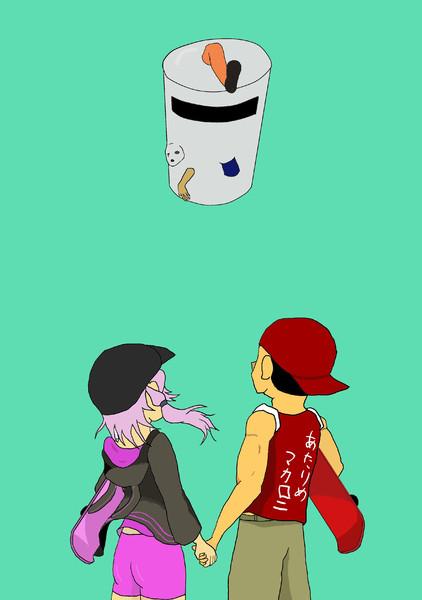 ゴミ箱先輩とヌケーター
