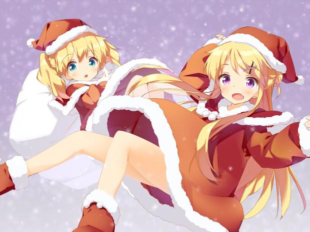 キンパツクリスマス