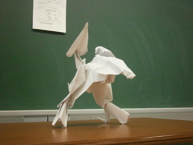 メタルギアREX 折り紙