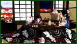 【MMD鬼徹】鬼灯様と童ちゃん達のお正月【紅白歌合戦-支援組】
