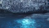 【MMDステージ配布】地底湖 KK4【スカイドーム】