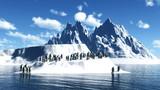 【MMDステージ配布】午後の南極 LL1【スカイドーム】