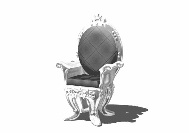 【MMD】玉座-Throne(pmx版)【配布】