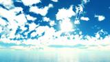 【MMDステージ配布】日射しの強い青空 JJ4【スカイドーム】