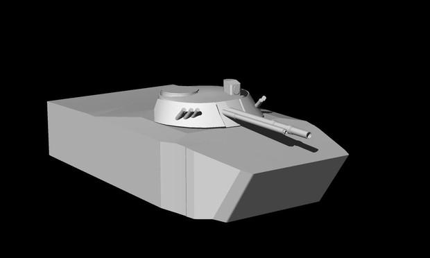 BMP-3の作業工程1