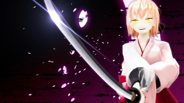 我が秘剣の煌めきを【剣術ポーズ配布】