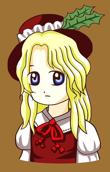 「蓬莱人形ジャケット・レーベルイラストの娘」