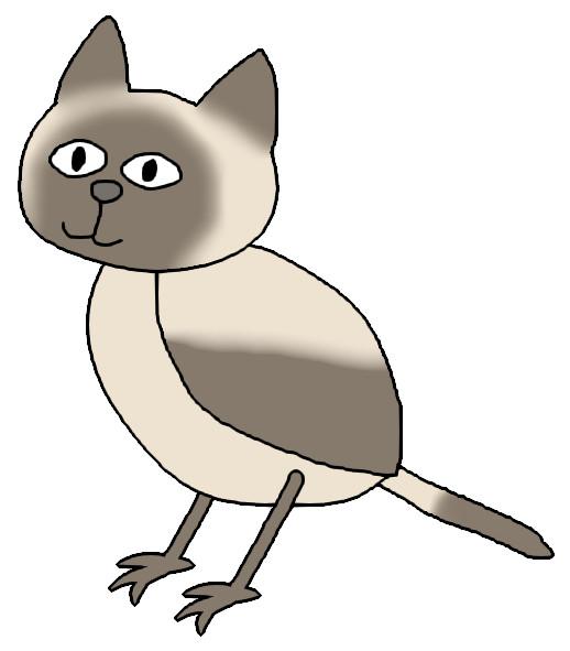 シャム猫鳥