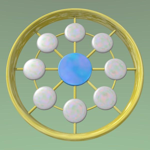 パールコイン車輪