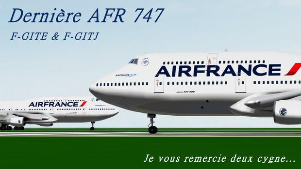 Dernière AFR747