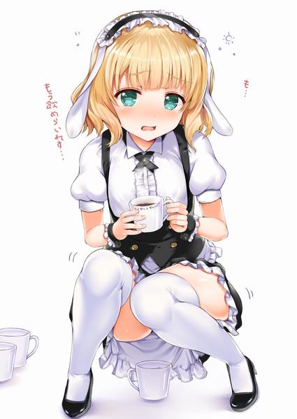 カフェインを摂り過ぎたシャロちゃん