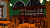 ラビットハウス風喫茶店