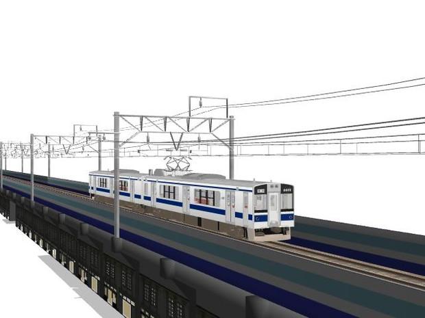 MMD鉄道高架橋付商店街公開