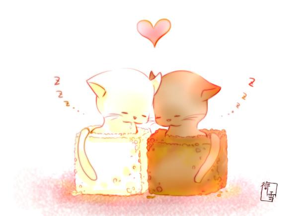 角砂糖カップル