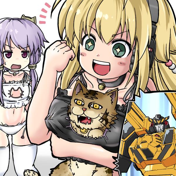 なぜ、胸にトラ(ネコ)の顔があるのですか!?