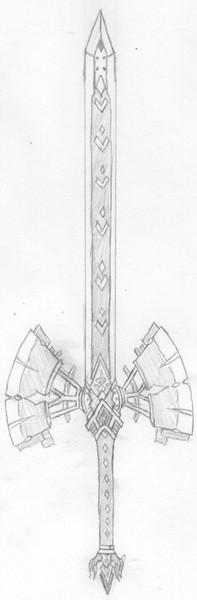自作中二武器 剣聖ニルヴェルーテル