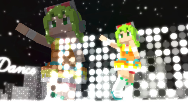 【配布】ドット絵風 グミVer1.0-1.06【ボカロMMDモデル】