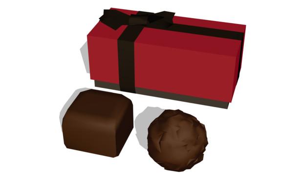 チョコレート配布
