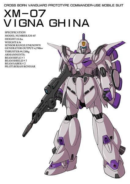 XM-07ビギナ・ギナ
