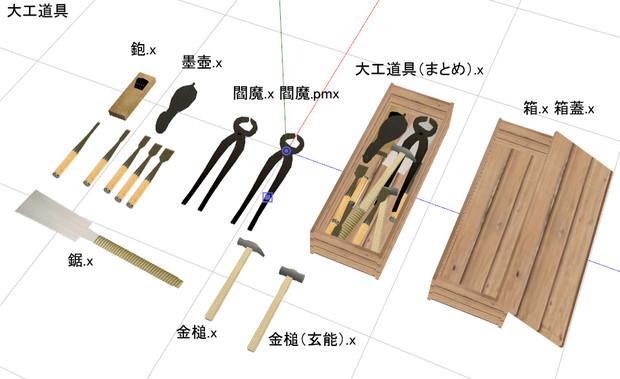 大工道具 Nukasa さんのイラスト ニコニコ静画 イラスト