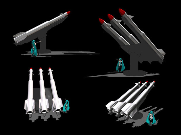 弾頭ミサイル