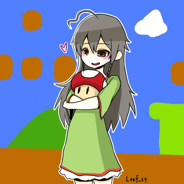 輝子とキノコ