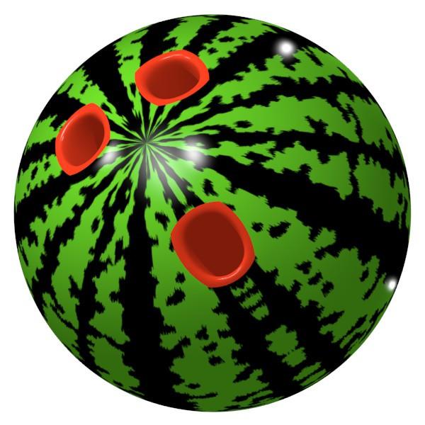スイカボウリングボール