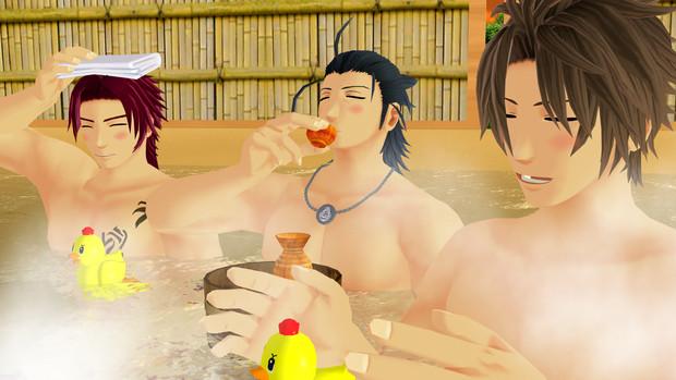 いっい湯だな~♪はははん♪
