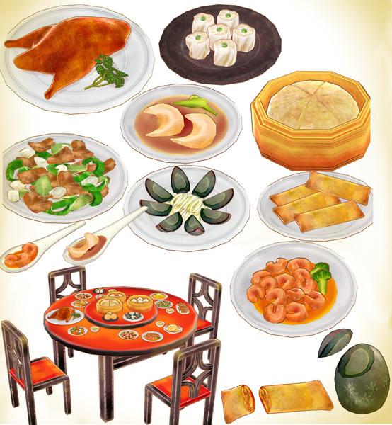 中華料理セットver2.0