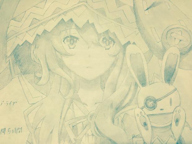 四糸乃を描いてみました〜♪
