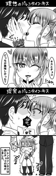理想のキスと現実のキス