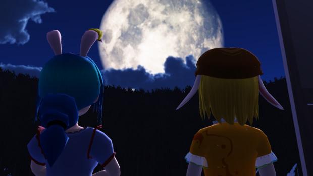 【第1回春のたけまつり】「望月(月を望む)」(東方MMD)