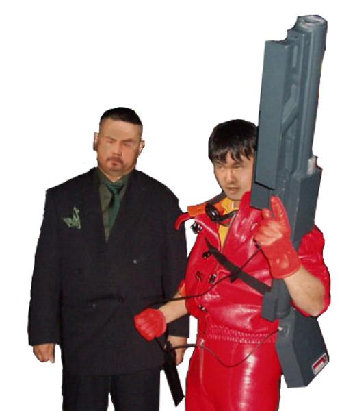 ドラゴン大佐とKND先輩