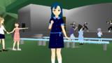 【MMDモデル配布】七尾百合子。