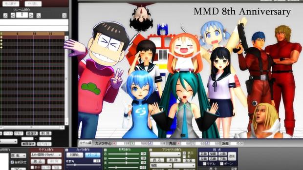 MMD 8th Anniversary