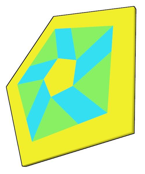 五角形コースター40