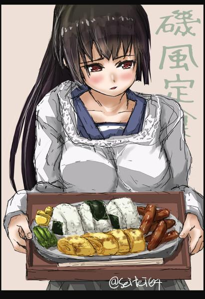 磯風、すこし料理ができるようになりました。