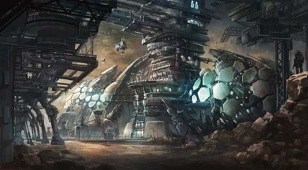 火星の発電所