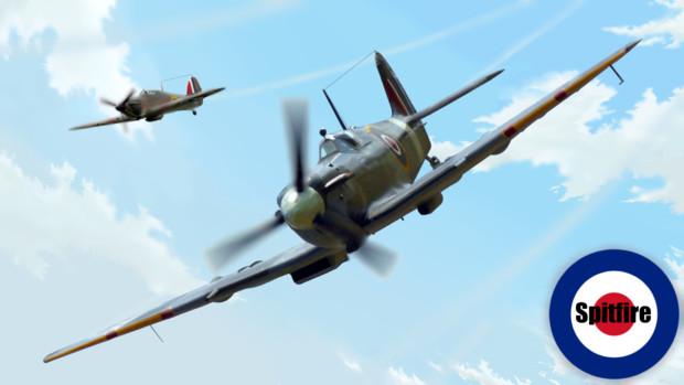 イギリス戦闘機 スピットファイア