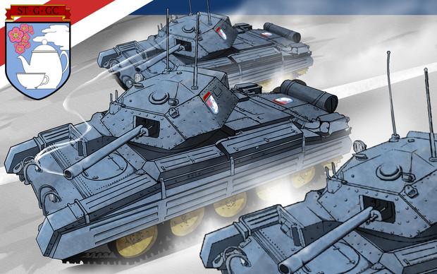 クルセイダー巡航戦車部隊(差分)