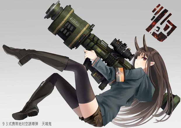 鬼っ娘にロケット砲