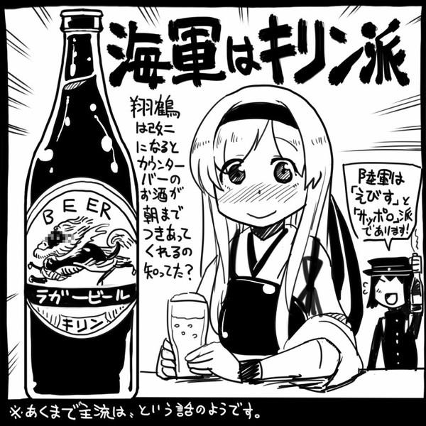 【艦これ】ビール事情【翔鶴】