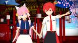 【MMD】 クラリンとお散歩 【紅殻のパンドラ】