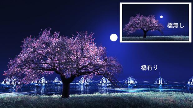 【MMDステージ配布】湾岸桜 NN7【AL対応スカイドーム】