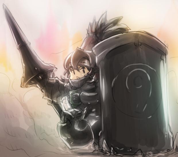黒鉄の騎士サケノミ