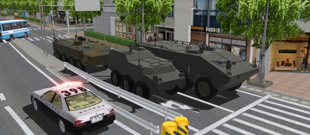 装輪装甲車改(仮)