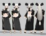 (MMDモデル配布)角娘のアーネさんver.2.04