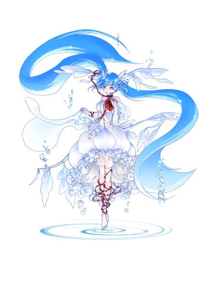 人魚姫 ~試し描きだよ初音ミク~