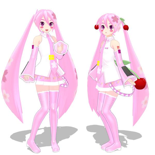桜ミクさん
